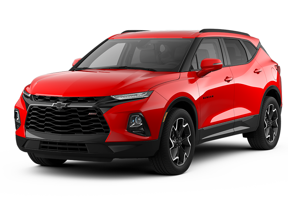 Chevy Blazer 2021 - Color Red Hot