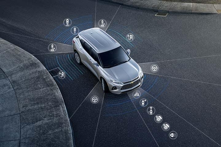 Chevy Blazer 2021 - Safety Sensors