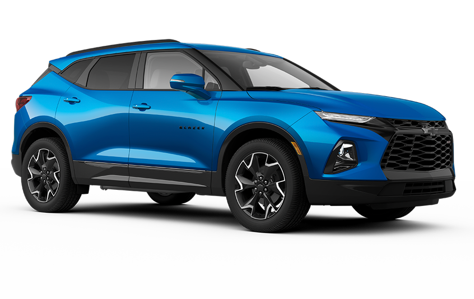 Chevy Blazer 2021 - Blue