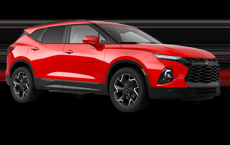 Chevy Blazer 2021 - Red