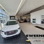 sweeney buick gmc in youngstown ohio showroom