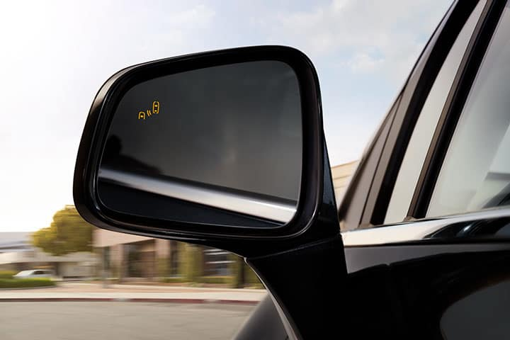 2021 Buick Encore Drivers Side Mirror Featuring Side Blind Zone Alert; Active Safety Feature