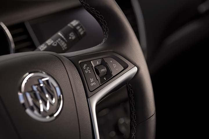 2021 Buick Encore featuring steering wheel Bluetooth Controls