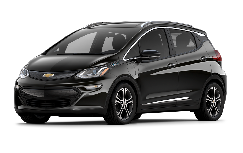 Chevy Bolt 2021 in Mosaic Black Metallic color