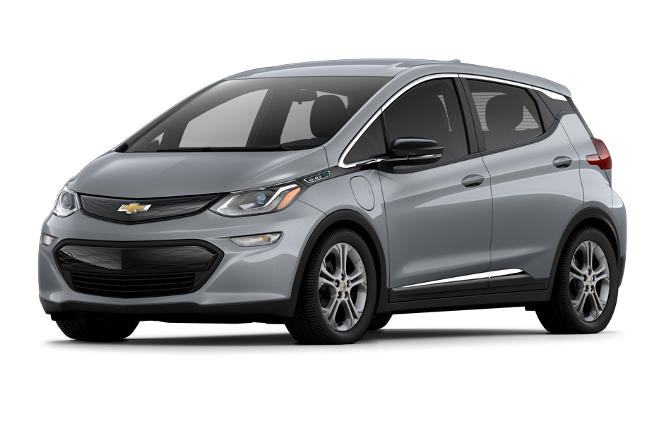 Chevy Bolt 2021 in Slate Gray Metallic color
