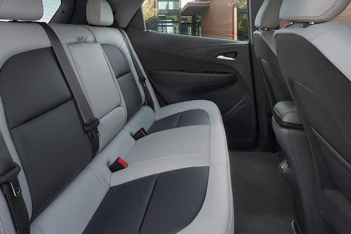 2021 Chevy Bolt interior Back Seats
