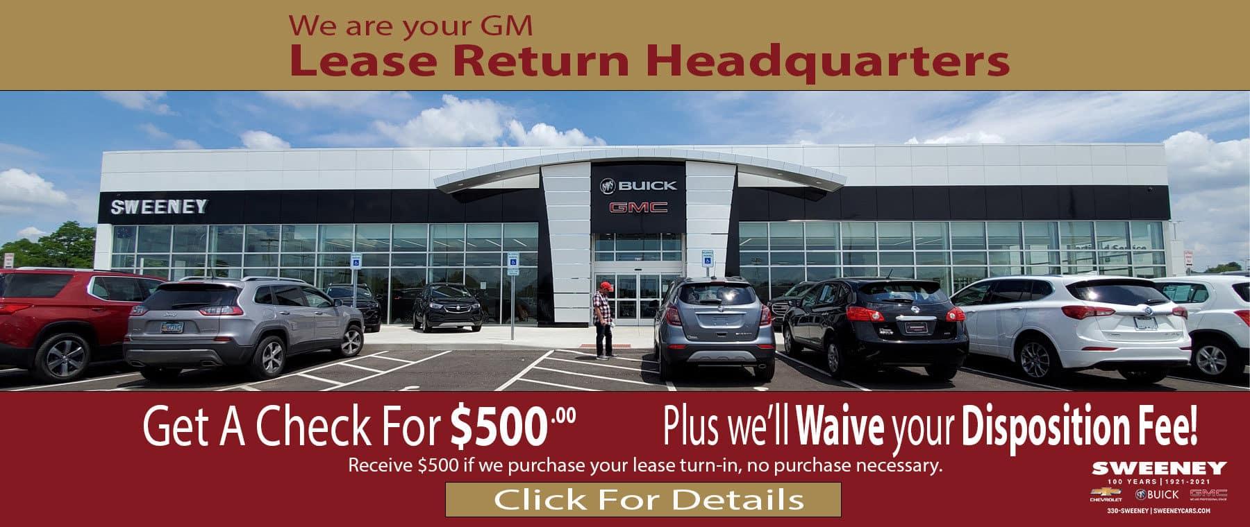 GM Lease Return Headquarters