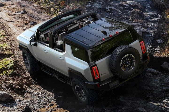 Sweeney Cars - 2021 GMC Hummer EV Crabwalk & Extract Mode