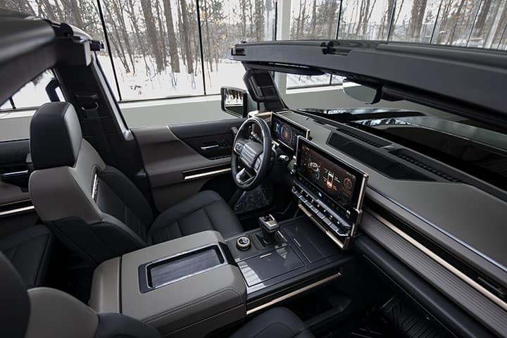 2024 GMC Hummer EV SUV INFINITY ROOF WITH MODULAR SKY PANELS driver side