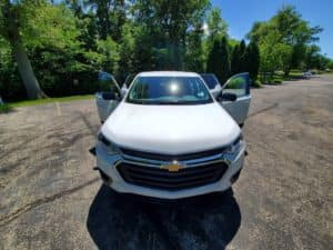 Chevy Traverse Exterior Front