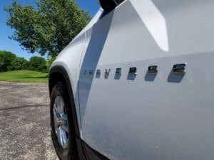 Chevy Traverse Side Name