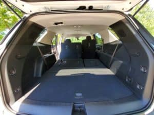 Chevy Traverse Trunk Space