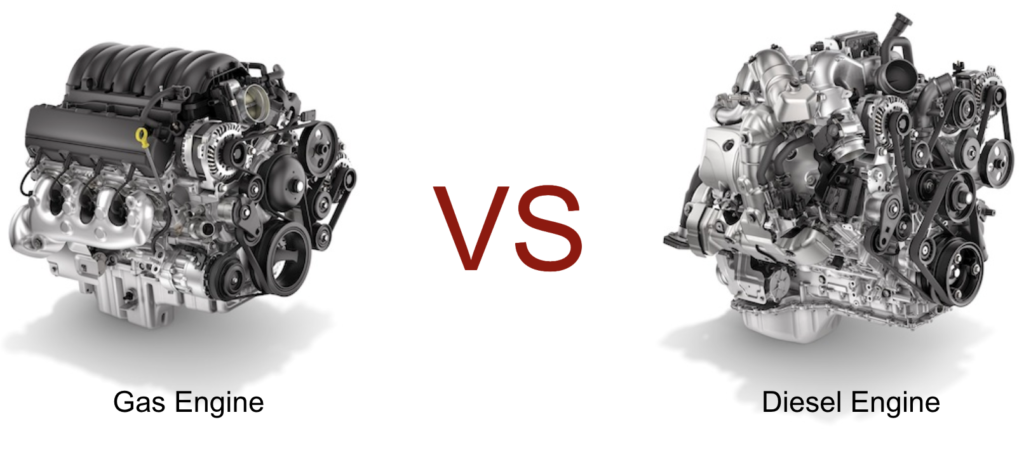 gas vs diesel engine