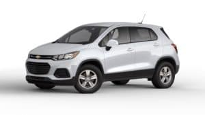 Chevy Trax Iridescent Pearl Tricoat