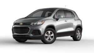 Chevy Trax Silver Ice Metallic