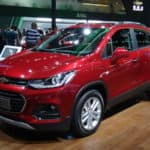 Chevy Trax SUV Red