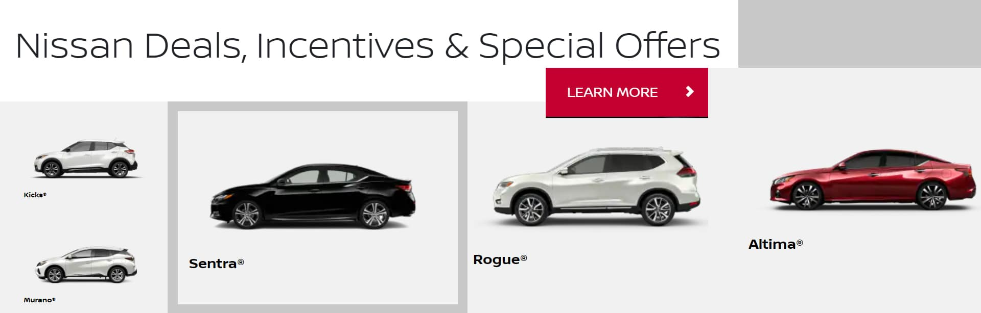 ALL NISSAN OFFERS
