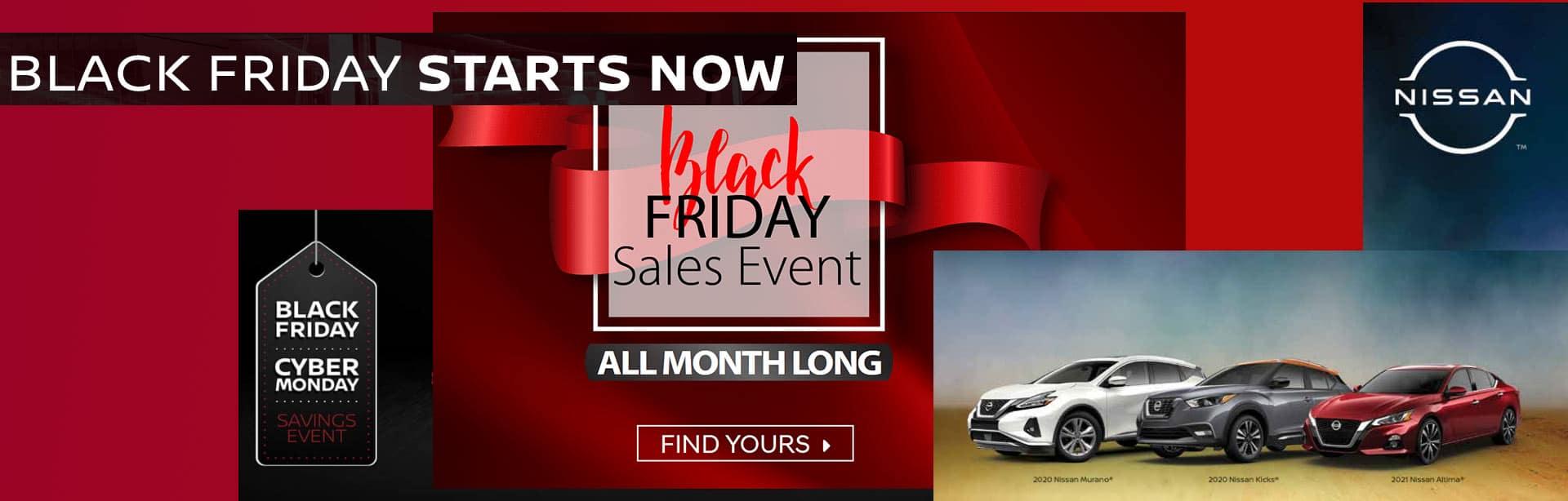 Nissan Black Friday
