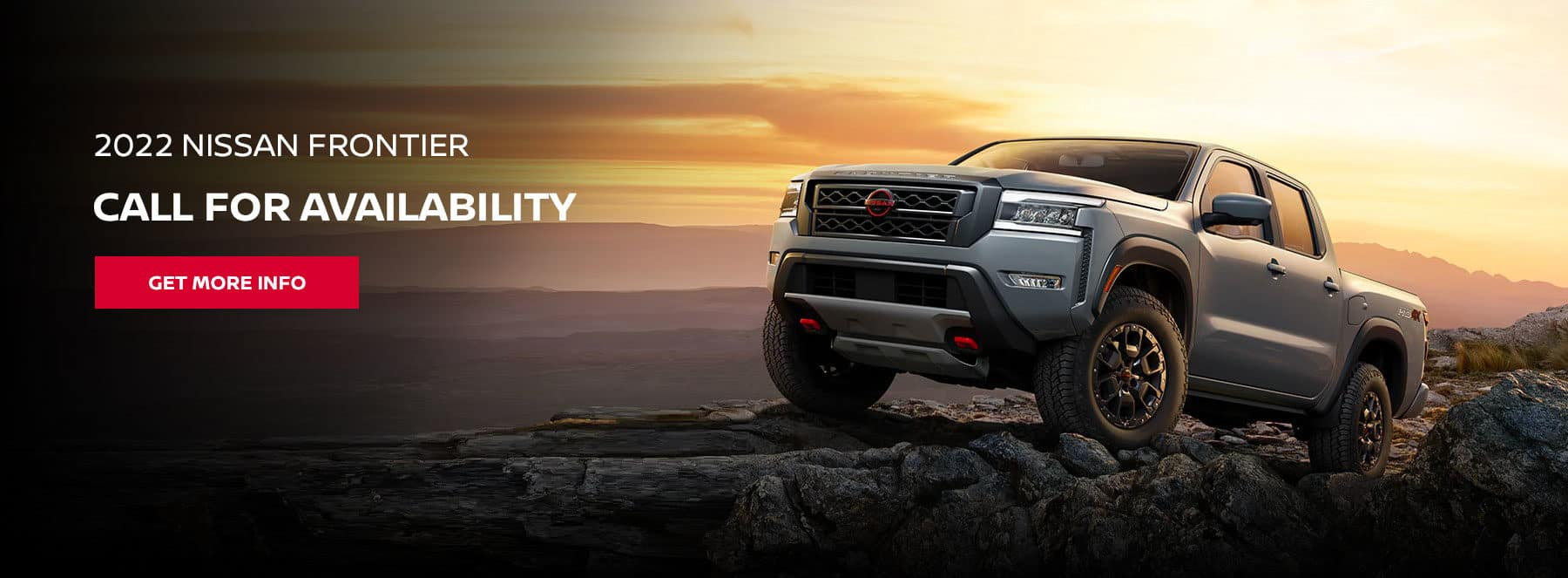 2022 Nissan Frontier, Call for Availability