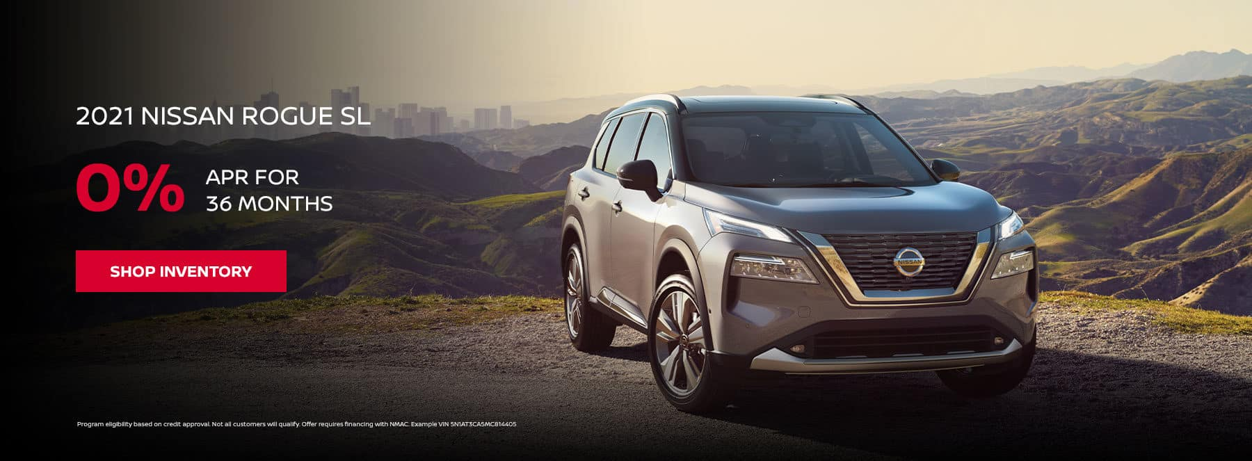 2021 Nissan Rogue SL, 0% APR for 36 months
