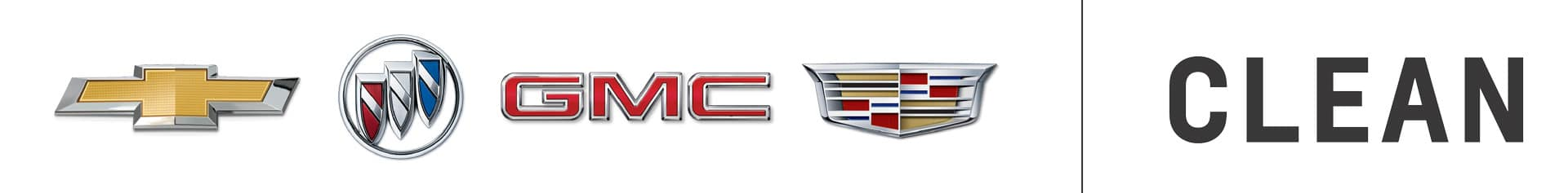 Chevrolet Buick GMC Cadillac Dealership Clean