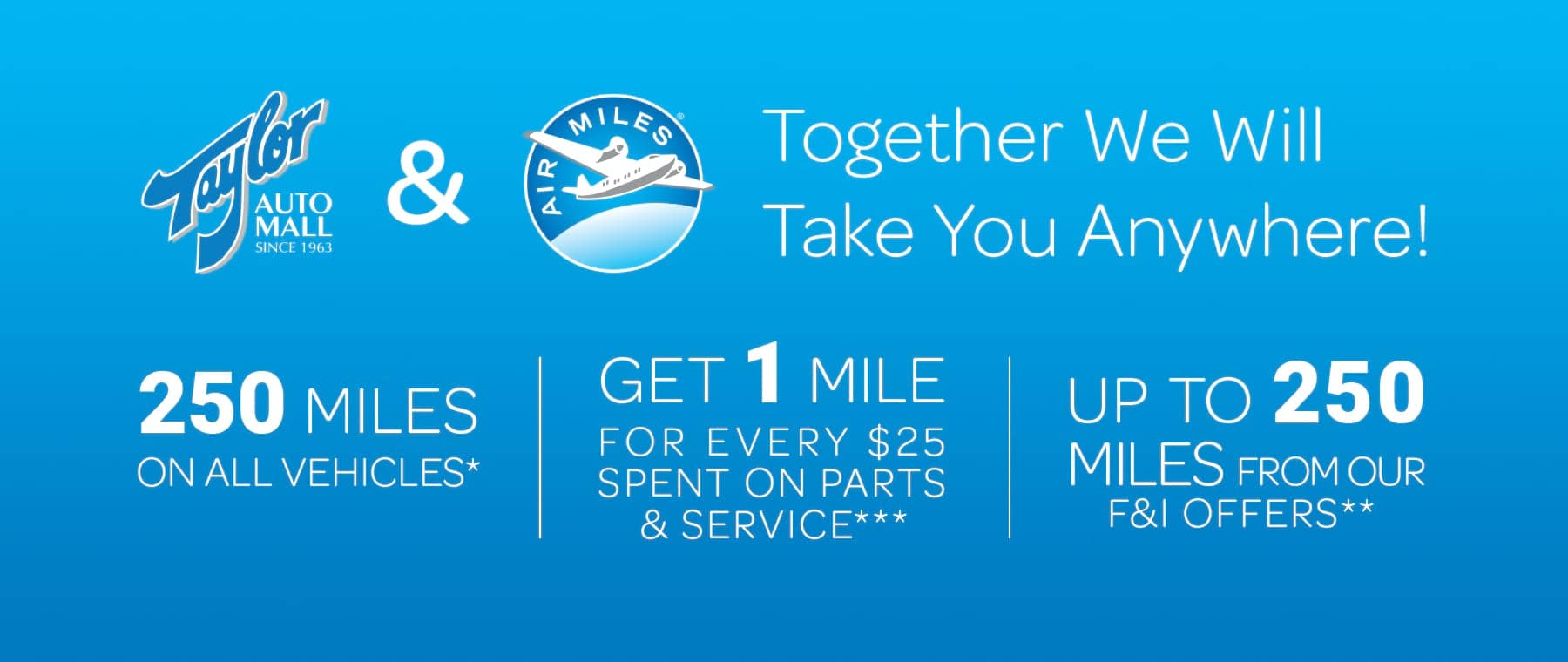 Air Miles Hero Slide