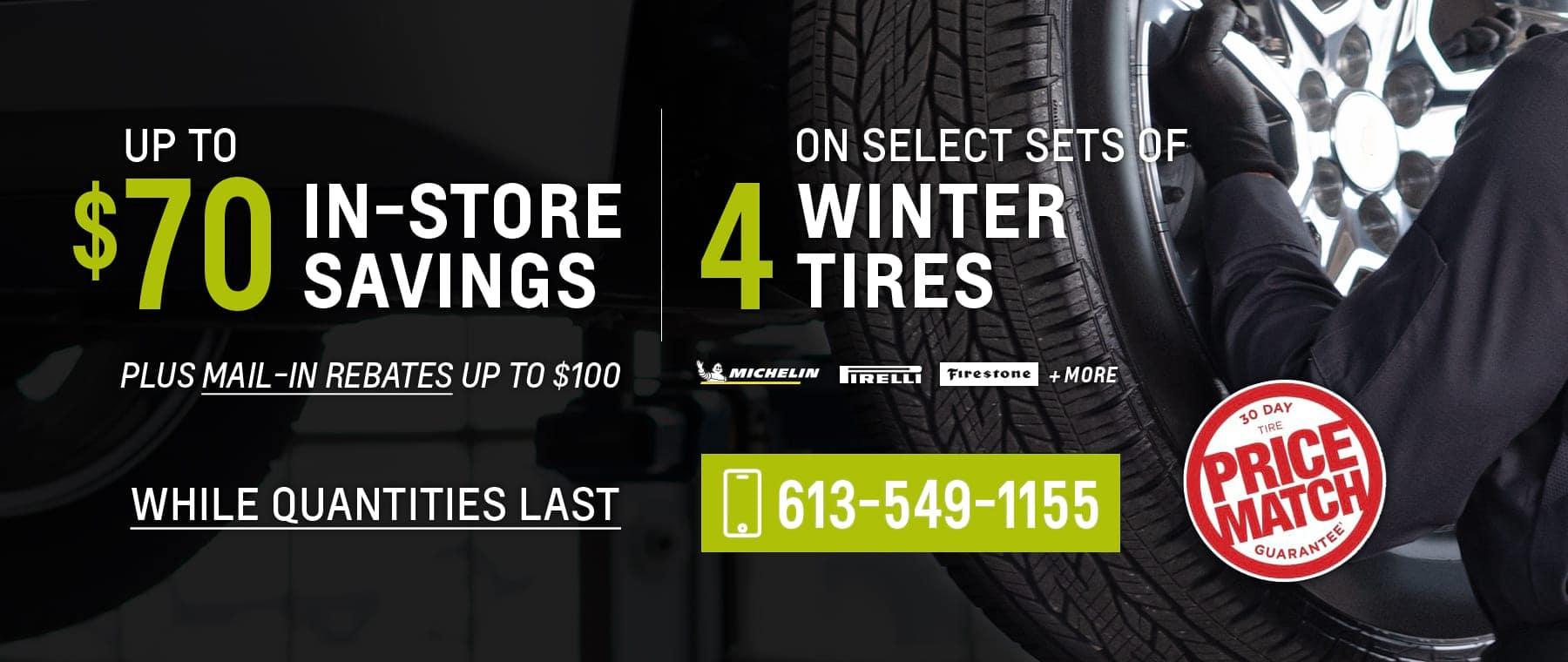 Winter Tire Sale 2020