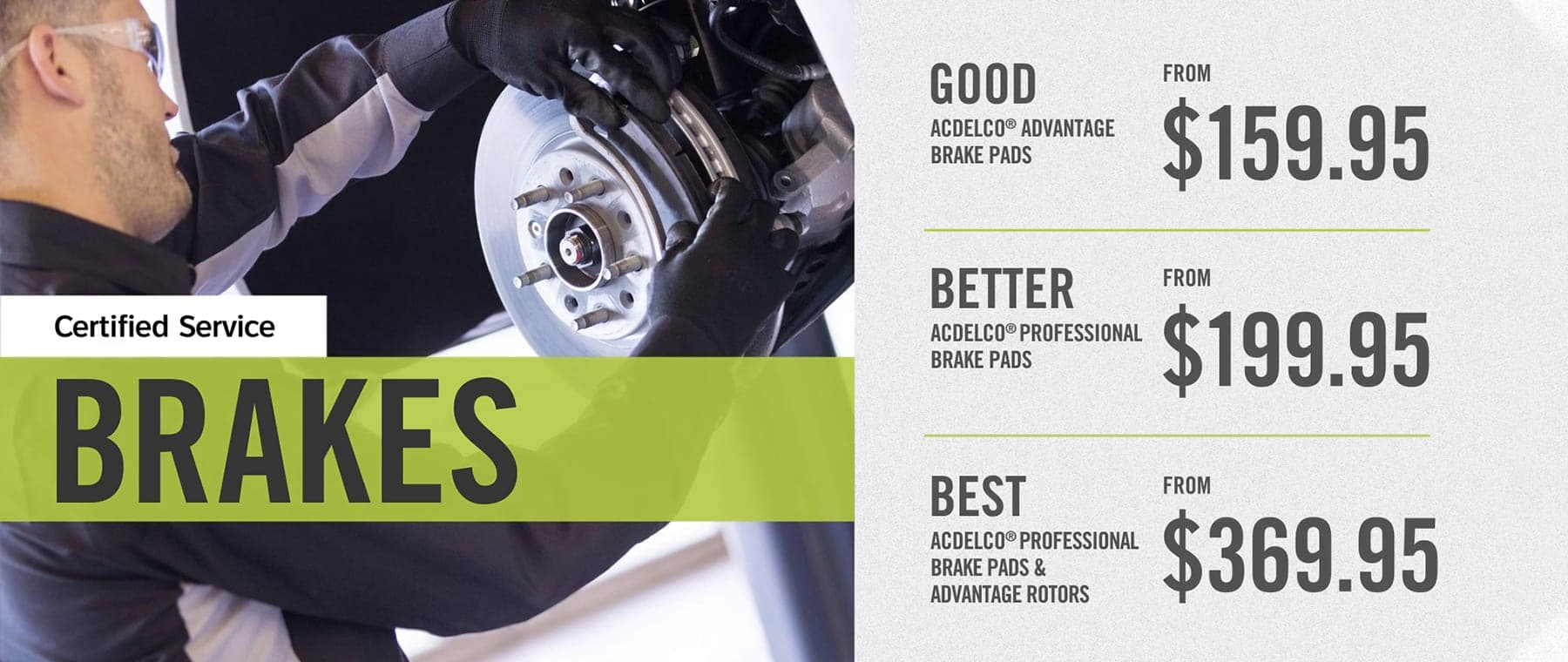 Certified Service Brakes 2020