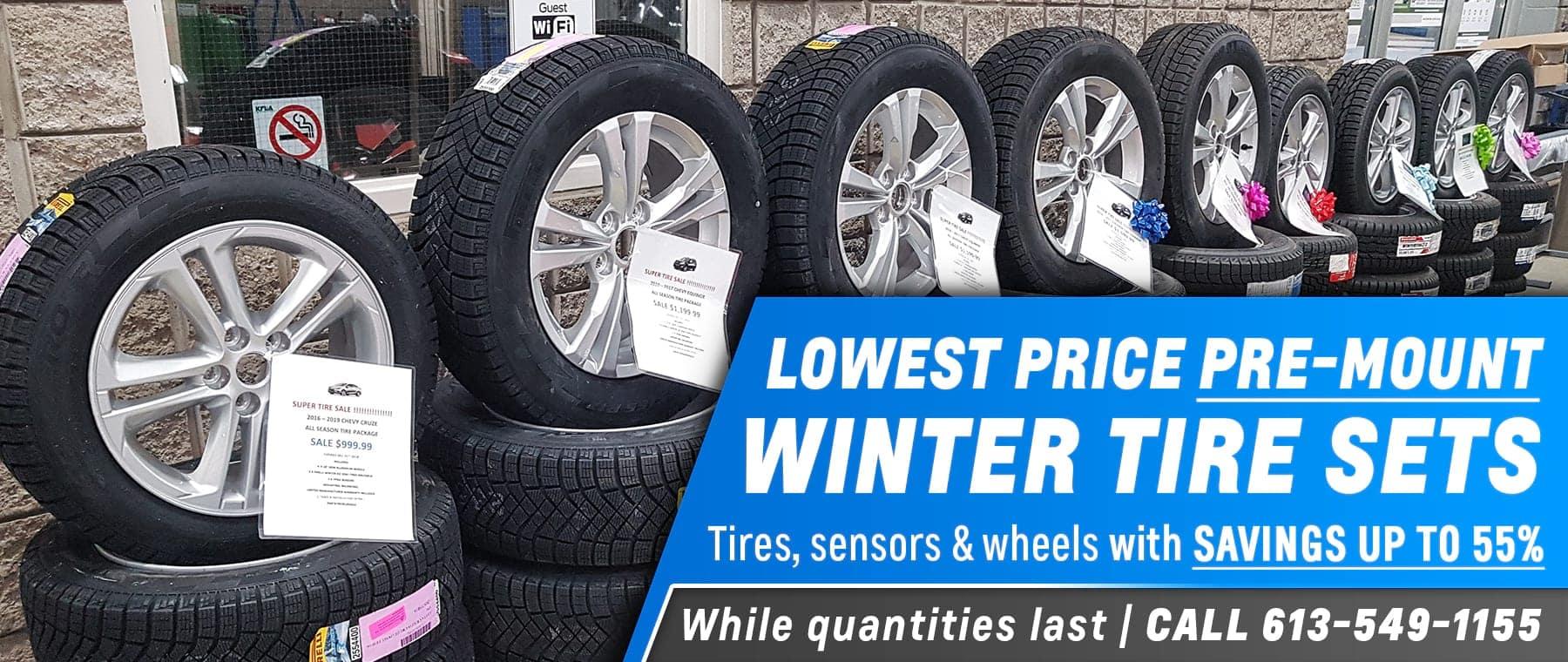winter tire premount sets
