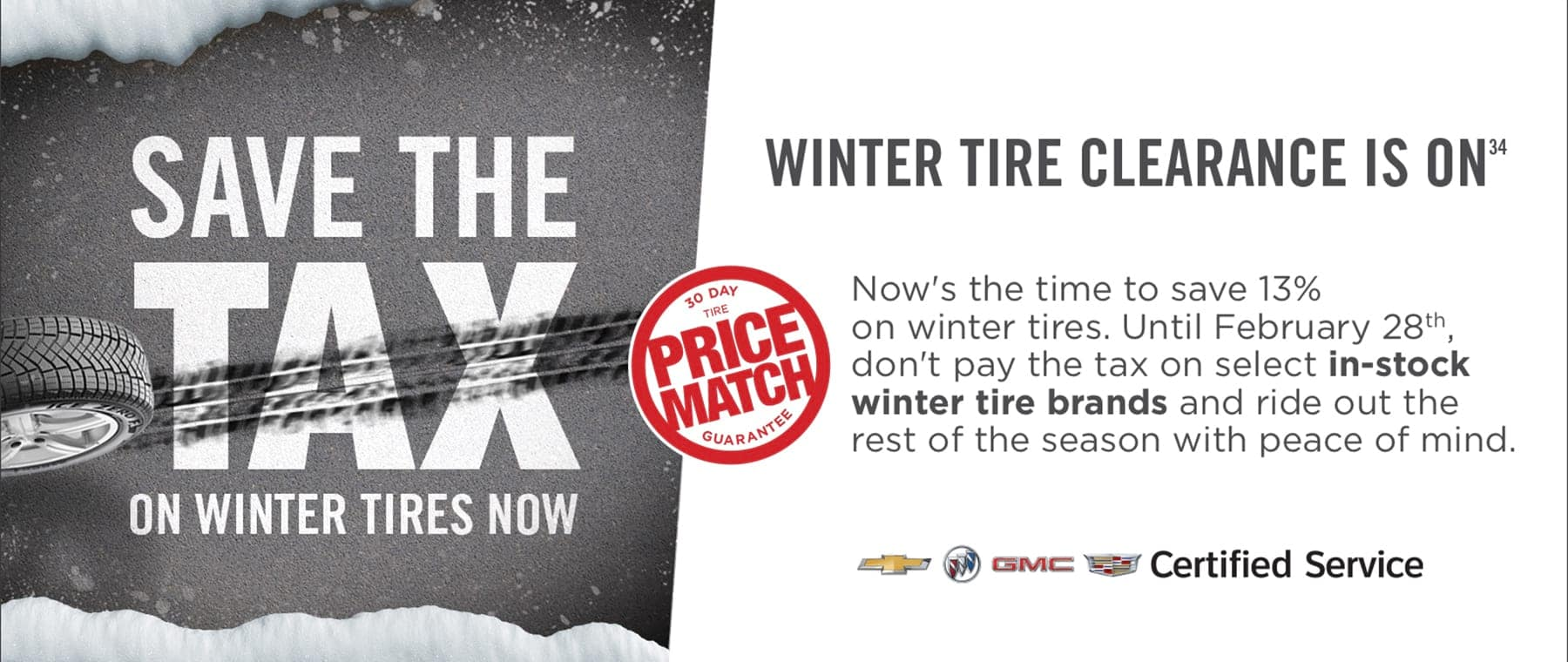 Save The Tax Winter Tire Clearance 2021