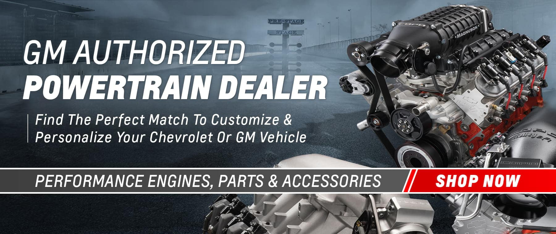 GM Powertrain Performance Parts Dealer
