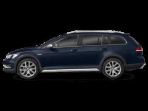 2019 VW Golf Alltrack - sideview