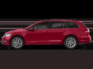 2019 Volkswagen Golf SportWagen 320 sideview
