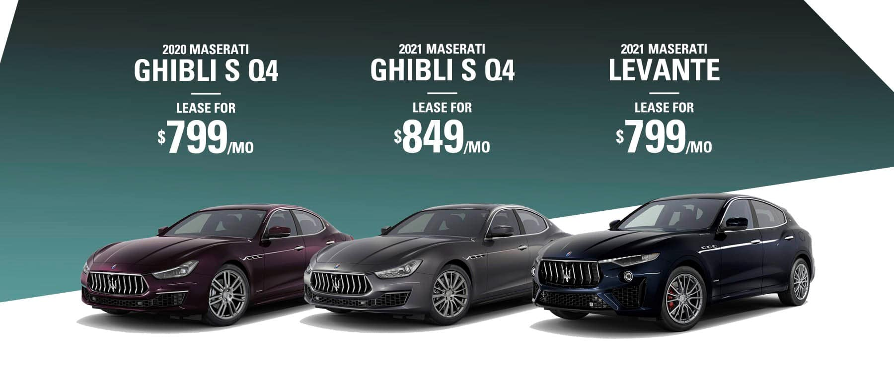 Maserati Lease offers at Gold Coast Maserati