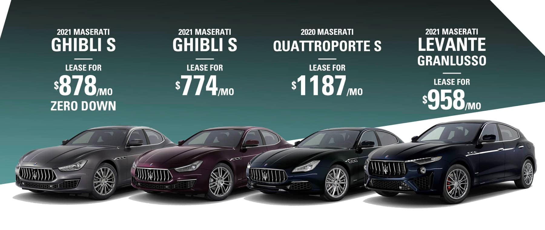 Maserati Lease offers at Maserati of Fort Lauderdale