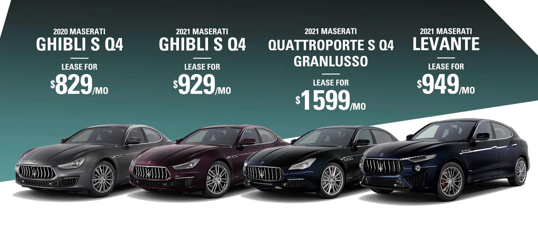 Maserati Lease offers at Maserati of Long Island