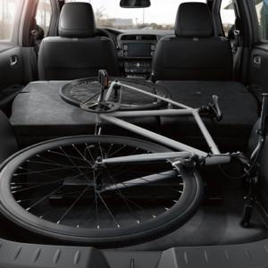 Nissan Leaf cargo space