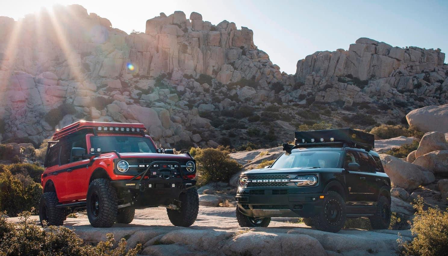 2021 Ford Bronco Models