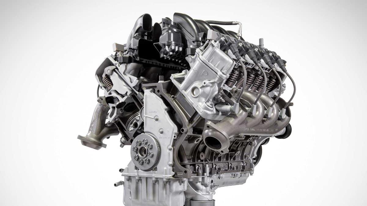 New Ford V8 Engine