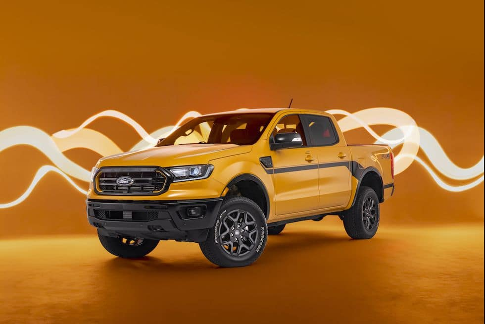 2022 Ford Ranger Splash Package