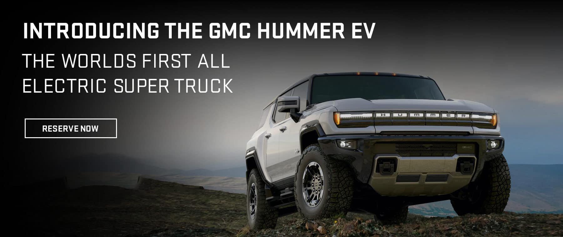 Introducing the GMC Hummer EV. The Worlds First All Electric Super Truck